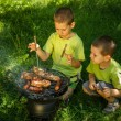 Photo: Barbecue party