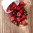 Mixed berries — Stock Photo #27924611