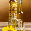 Edible oils — Stock Photo
