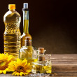 Oils in bottles  — Stock Photo