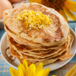 Traditional pancakes — Stock Photo