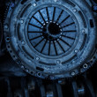 Car clutch disk — Stock Photo