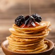 Stock Photo: Mini pancakes