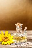 Резервуар подсолнечного масла — Стоковое фото