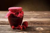 Jar met jam — Stockfoto