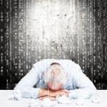 Stressed employee — Stock Photo #30764605