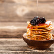 Mini pancakes — Stock Photo