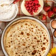 Delicious pancakes — Stock Photo