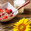 Wholegrain muesli — Stock Photo