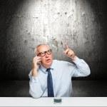 empresário de meia-idade — Foto Stock