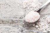 粉红盐 — 图库照片