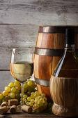 Белое вино — Стоковое фото