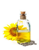 Sunflower oil — Foto de Stock