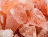 Pink crystal salt — Stock Photo