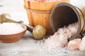 Pink salt — Stock Photo