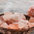 Himalayan pink salt — Stock Photo