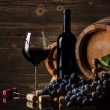 Still life with red wine — Stock Photo #33265617