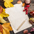 Autumn leaves — Stock Photo #34623817