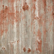 Painted wood — Stock Photo