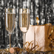 Glass of champagne — Stock Photo #35789347
