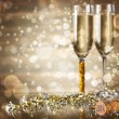 Celebrating New Year — Stock Photo