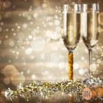 Celebrating New Year — Stock Photo