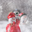 Christmas figurine — Stock Photo