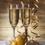 Champagne glasses — Stock Photo #36205651
