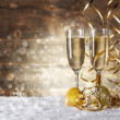 Glass of fizz — Stock Photo #37795341