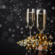 Champagne glasses — Stock Photo #37795373