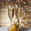 Champagne glasses — Stock Photo #37795379
