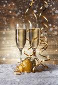 Champagne glasses — Foto de Stock