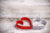 Paper hearts — Stock Photo