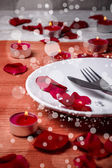 Valentine' day dinner — Fotografia Stock