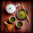 Japanese traditional tea — Stock Photo