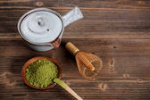 Matcha set — Stock Photo