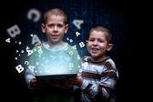 Concepto de e-learning — Foto de Stock