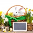 Easter composition. — Stock Photo