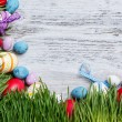 Stock Photo: Easter frame