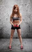 Mujer atlética — Foto de Stock
