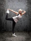 Danseur hip-hop urbain — Photo