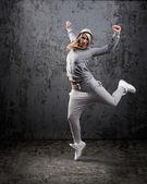 Bailarina de hip-hop urbano — Foto de Stock