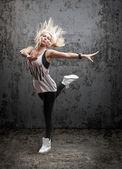 Bailarina posando — Foto de Stock