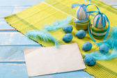 Easter note paper — Foto Stock