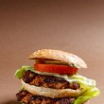 Big hamburger — Stock Photo #45849977