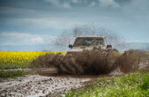 Off road jeep — Stock Photo