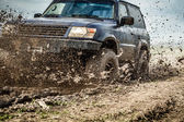 Off road car — Stock Photo