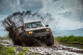 Jeep off road — Stock Photo
