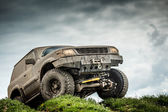 Off road bil — Stockfoto