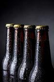 Bottles of beer — Stock Photo